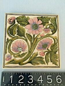 Hand Made England Craven Dunnill Jackfield LTD Ironbridge Porcelain TRIVET