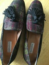 Gorgeous Fratelli Rosetti Tassel Loafers Size 38 Eur. and Size 8 US EUC