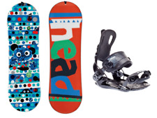 HEAD Rowdy Kid 90 Kinder Snowboard Set mit SP Fastec Bindung Kinder Anfänger