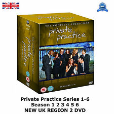 Private Practice Series 1-6  Season1 2 3 4 5 6 Kate Walsh, Tim NEW UK R2 DVD