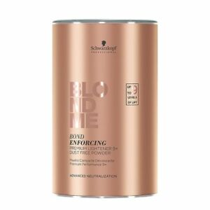 schwarzkopf blondme bond enforcing premium lightener 9+ powder 450g hair bleach