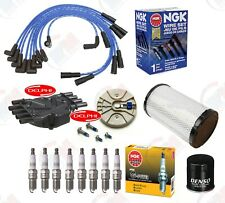 Delphi Tune Up Kit (Ngk Wires & Plugs) for 1996-1999 Chevrolet K1500 K2500 5.7L