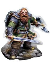 1:24 scale 75mm Resin Figures Model Kit,Fantasy Dwarf Warrior R77 Garage Kit