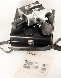 NIZO BRAUN FA3, DOUBLE-8 FILM MOVIECAMERA, SPRING MOTOR