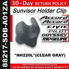 Genuine OEM Honda Clear Gray Sunvisor Holder - One (1)    88217-SDB-A01ZA