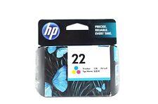 HP Genuine 22 Tri-Color Inkjet Print Cartridge CH9352A New In Retail Box