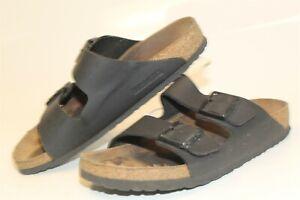 Birkenstock Womens Size 40 9 Arizona Flat Germany Made Soft Footbed Sandals
