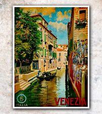 """Italy Venice Art Travel Poster Italian Wall Decor Print 12x16"""" A150"""