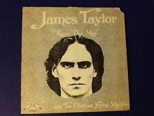 JAMES TAYLOR & THE ORIGINAL FLYING MACHINE~self titled TRIP 1973 (LP) Nm/JKT Vg+
