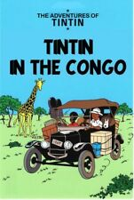 IN Tintin Poster Extra Gross Tin to The Congo 93 X 67 CM New RAR