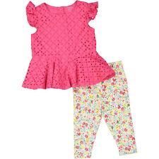 Ralph LAUREN Bebé Niño Multicolor Camiseta Y Leggings Conjunto, 9 meses