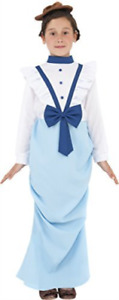 Posh Victorian Costume, Blue, with Dress & Hat -  (Size:  (UK IMPORT) COST-W NEW