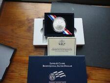 2004 Lewis & Clark  Unc. Bicentennial Silver Dollar