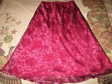 Regular Size Floral Long A-Line Skirts for Women