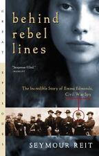 Behind Rebel Lines Historical Civil War paperback by Seymour V Reit FREE SHIP