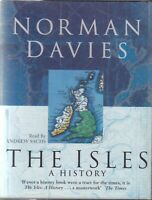 The Isles A History Norman Davies 6 Cassette Audio Book Abridged Britain Ireland