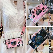 Retro Blu-ray Camera Bracket Crossbody Hot Fashion Case Cover For Various Phone