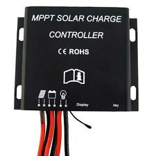 30A MPPT PV Battery Charge Controller 12V 24V Waterproof Timer IP68 360W/720W UP