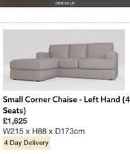 *BRAND NEW* Small Corner Chaise Sofa (4 seats)