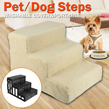Pet Gear Easy Step 3 Steps Dog Cat Stairs Ladder for Couch or Bed With Cover Hot