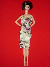 Barbie Size Fashion~1960's Fab Lu Babs Lili Clone Doll Strapless Dress~TLC Req