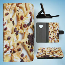 SAMSUNG GALAXY NOTE 9 FLIP CASE WALLET COVER|CANDY GINGER BREAD COOKIES #2