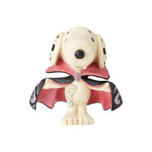Jim Shore Peanuts SNOOPY VAMPIRE Mini Figure HALLOWEEN 2021 NEW 6002776