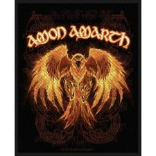 Amon Amarth Men's Phoenix Woven Patch Black