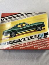 Vintage Renwal Ford Mustang Gt Fastback Model 1/12 Kit Opened Rare 1960's