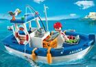 Playmobil 5131 Fisherman and Fishing Boat NEW