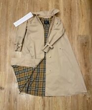 Burberry trench coat vintage women's small