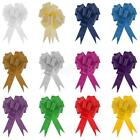 30mm Large 10ocs Pull Bow Wedding Floristry Car Gift Decorations Christmas Gift