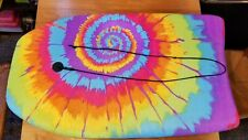 """Body Surfing Bodyboard Boogie Board 30"""" x 18"""" Vibrant Tie-Dyed colors"""
