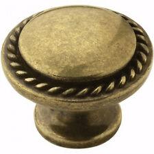 "Amerock Allison 7/8"" Projection Zinc Cabinet Knob 53001-BB Brushed Brass NEW"