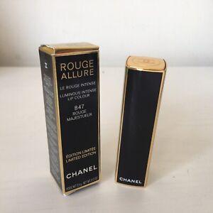 Chanel Rouge Allure Luminous Intense Lip Colour 847 Rouge Majestueux Genuine