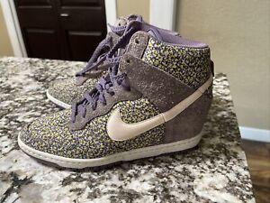 Nike Dunk Sky Hi Liberty Floral Purple
