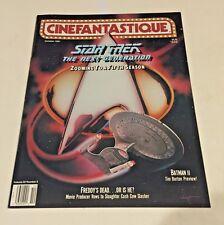 3 Cinefantastique Magazine Star Trek Next Generation 5th,6th,7th season preview