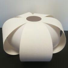 sophistiqué tissu abat-jour E27 Souple Blanc Lampadaire Luminaire suspendu