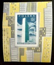POLAND STAMPS MNH Fibl19 Mibl20 - UN, 1957, **
