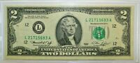 Series 1976 2$ Federal Reserve Note,San Francisco Green Seal, A8