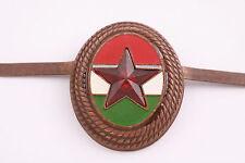 Hungary Hungarian hat badge cochade army badge Soviet bronze brass Star Soviet