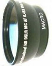 Wide lens for Jvc GZ-MG880 GZ-MG880B GZ-MS90 GZMG680BEK