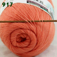 Sale 1 Skein x50gr LACE Soft Crochet Acrylic Wool Cashmere hand knitting Yarn 17