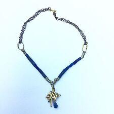 Collier Vintage En Lapis Lazuli Style Calder Moderniste Designer Necklace