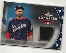 J.D. Martinez 2018 Topps Update All Star Stiches Game Jersey Red Sox Black
