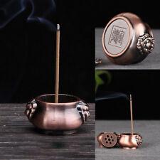 Pure Copper Incense Burner Holder Stick Cones Home Grden Decor Decorations