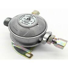 LPG Regulator 8mm Outlet Fixed Gas Bulkhead Reg 30mbar 1.5Kg/h - Camper/Caravan