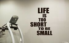 Gym Wall Art Sport Quotes Fitness Poster Wall Vinyl Decals Club Home Decor 21fit
