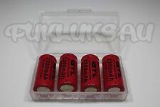 4 PILES RECHARGEABLE 16340 CR123A 3.7V 2300mAh Li-ion + BOITE DE RANGEMENT • KDO