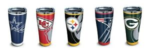 Tervis 30oz Stainless Steel Tumbler - Rush NFL - pick your team